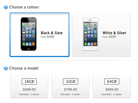 Canada iPhone 5 pre-orders sold out