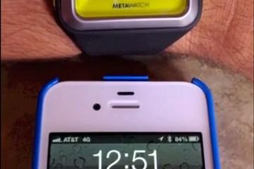 MetaWatch Strata iOS 6 SMS
