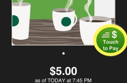 Tap to pay within the app