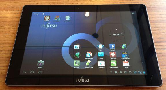 fujitsu stylistic m532 display