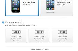 iPhone 5 Black Friday Delivery Delays