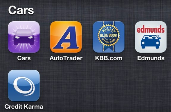 iPhone Car Buying Apps
