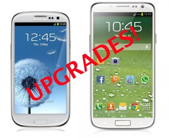 Galaxy S4 Upgrade Frenzy