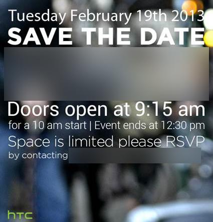 HTC M7 invite