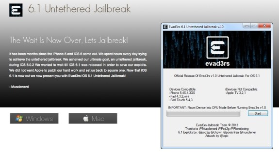 fake iPhone 5 jailbreak