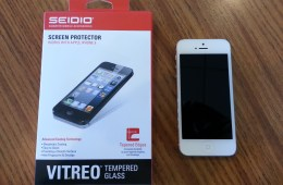 Seidio Vitreo Tempered Glass Screen Protector for iPhone 5