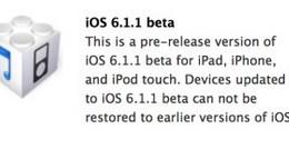 iOS 6.1.1 Beta