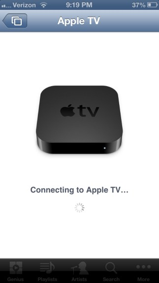 Connecting Apple TV