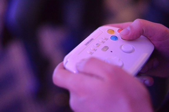 The Samsung Galaxy S4 GamePad accessory is up for pre-order, but it's costly.