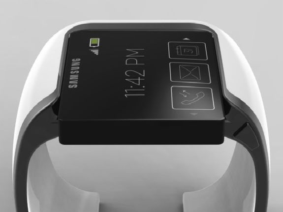 Possible look for a Samsung  Galaxy Watch. Image Credit Johan Loekito.