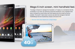 The Sony Xperia ZL will feature 4G LTE speeds in the U,S., unlike the Xperia Z.