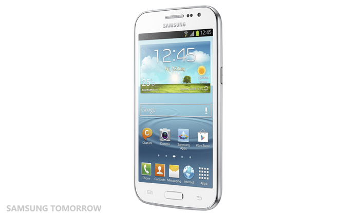 The Samsung Galaxy Win.