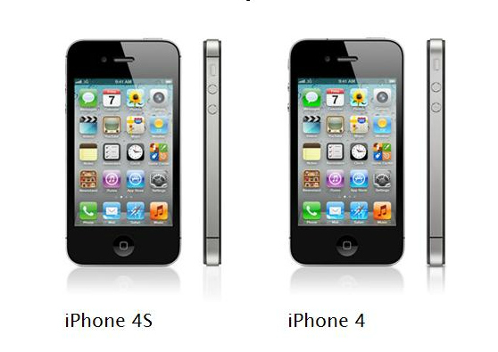 The iPhone 4 and iPhone 4S are almost identical.