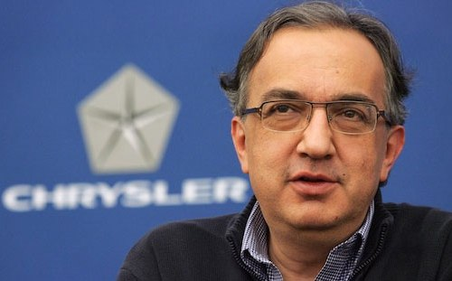 Chrysler CEO Sergio Marchionne talks about the 500e