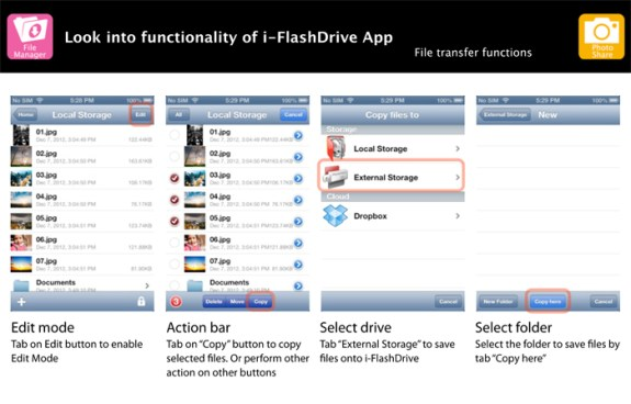 i-FlashDrive app