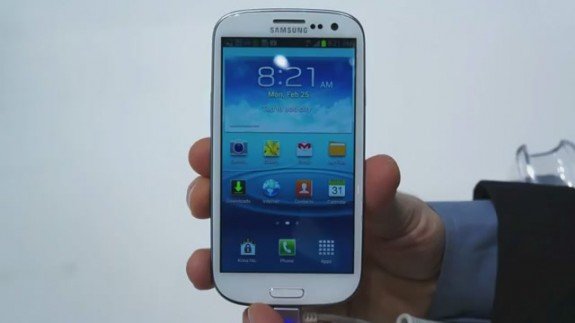 The Galaxy S3 LTE comes shortly after the launch of the Galaxy S4.