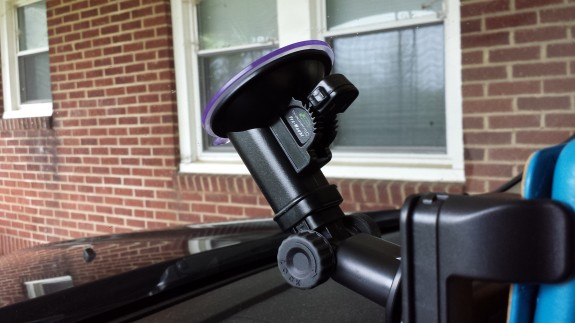 bracketron Universal Tablet Windshield Mount suction