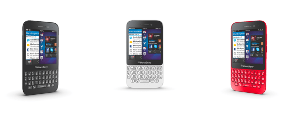 The new BlackBerry Q5, running BlackBerry 10.