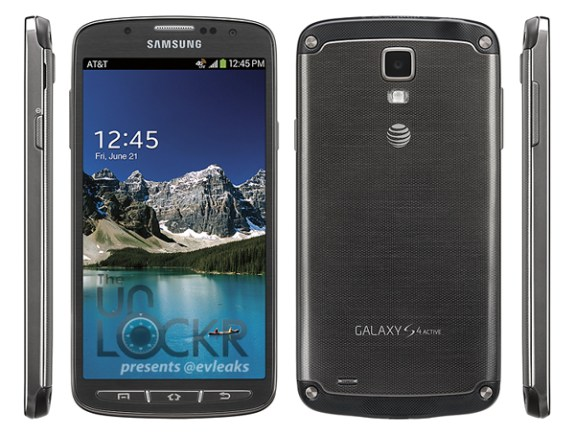 This appears to be the Samsung Galaxy S4 Active for AT&T.