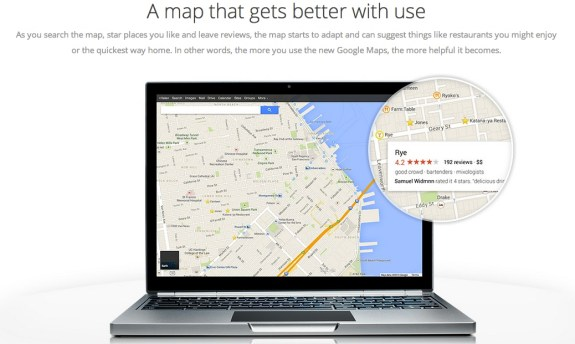 Google Maps UI overhaul