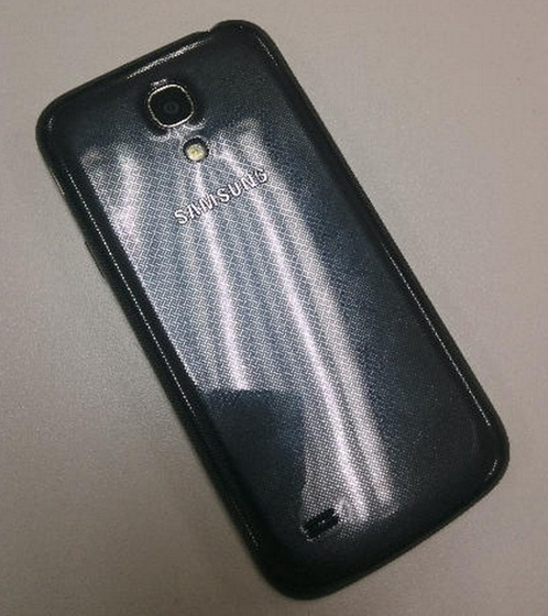 The Samsung Galaxy S4 mini, appears in a set of leaked photos allegedly showing the real deal.