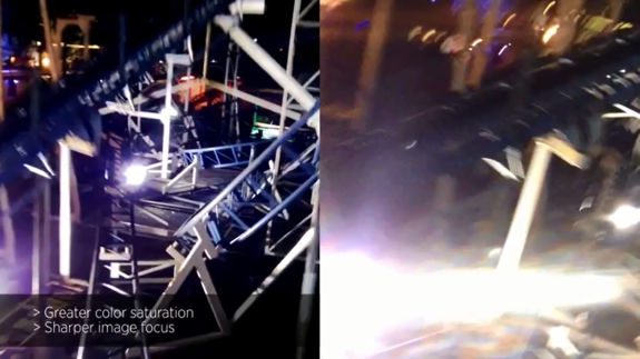 A comparison of footage from the Lumia 928 and the iPhone 5