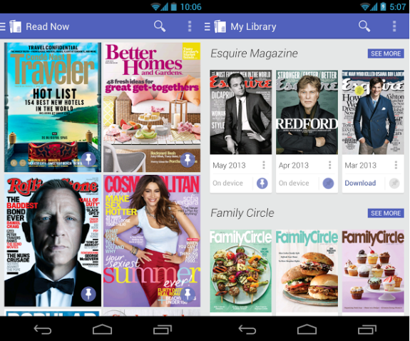 Google Play Magazines 2.0