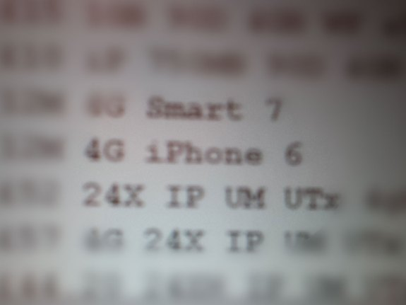 Stuff shares a photo showing what may be an iPhone 6 listing on Vodafone UK.