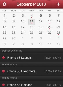We expect the iOS 7 release in September.