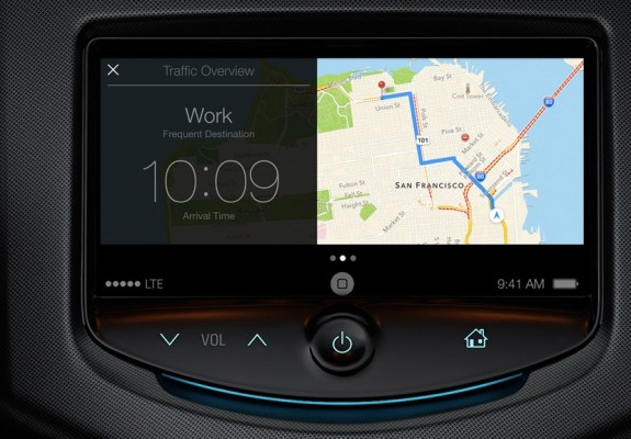 iOS 7 in the Car could come to Ford vehicles, but not in 2014.