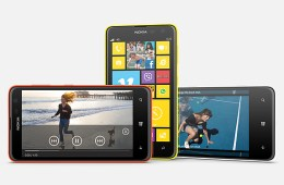 The Nokia Lumia 625, a new low-cost Windows Phone.