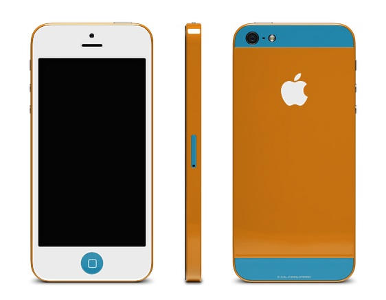 Colorware lets users color an iPhone 5 with six customization points and more than two dozen color options.