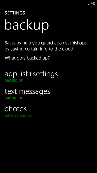 How to Back Up Windows Phone 3