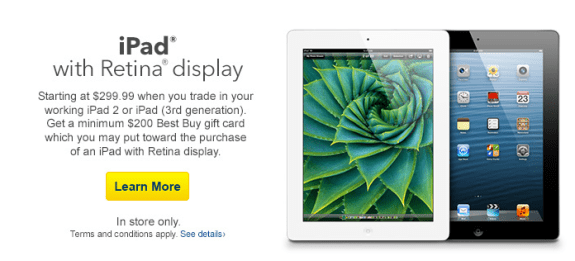 Best Buy's iPad trade-in deal for the iPad 4 is good, but there are better options.