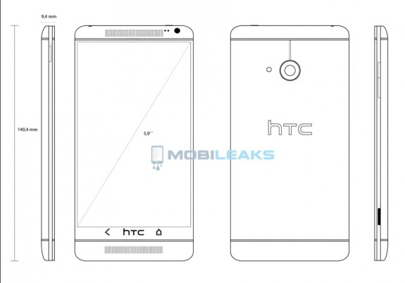 This could be the HTC One Max.