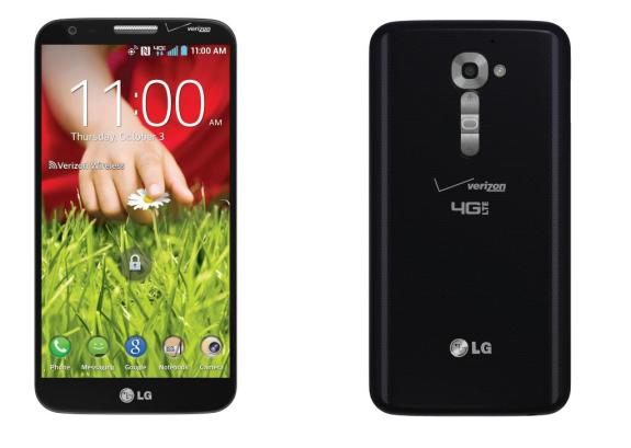 Is this the LG G2 or a mobile advertisement? It's hard to tell.