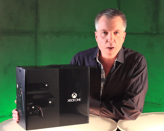 Watch the Xbox One unboxing video to see one of 20 current production Xbox One units in retail packaging.
