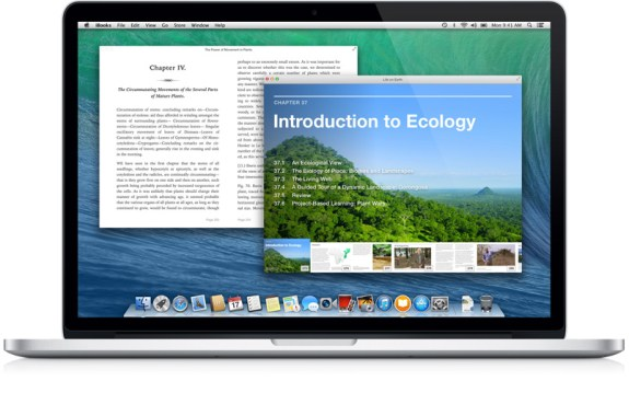 OS X Mavericks beta 5 delivers an iBooks app for Mac.