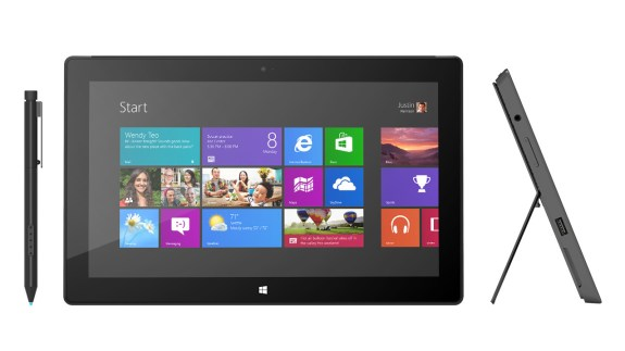 The Surface Pro 2 is rumored to come with more RAM, Intel Haswell Core i5 processor, and improved battery life over the first generation model it replaces.