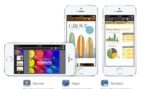 Apple includes $40 worth of iPhone apps free with the iPhone 5S.