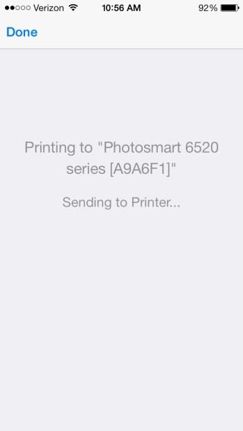 Print Message