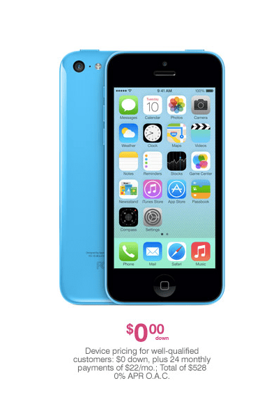 The iPhone 5C goes up for pre-order early tomorrow morning.