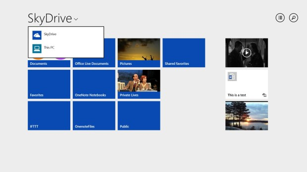 The Skydrive Metro App