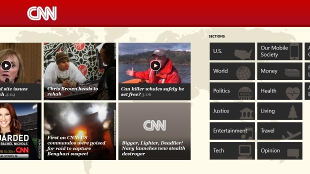 The CNN Metro App