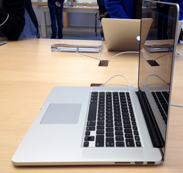 We expect a new MacBook Pro Retina as soon as next week.