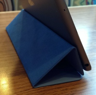 ipad air smart cover vertical stand position