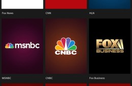 XFinity TV Go App with Live Stream Button