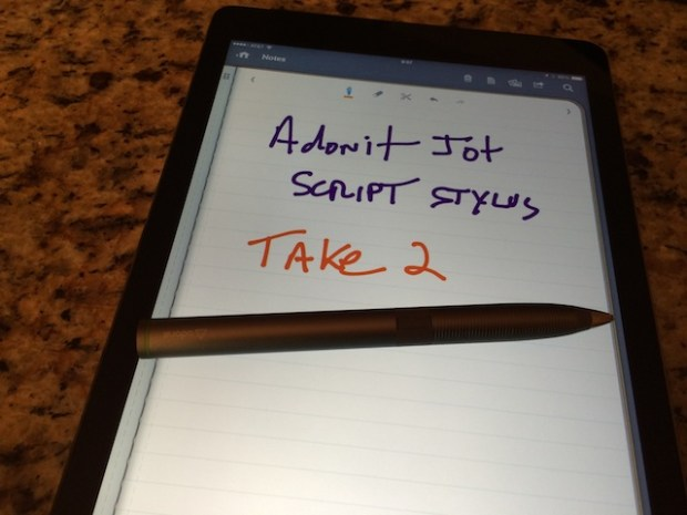 A second look at the Adonit Jot Script Stylus