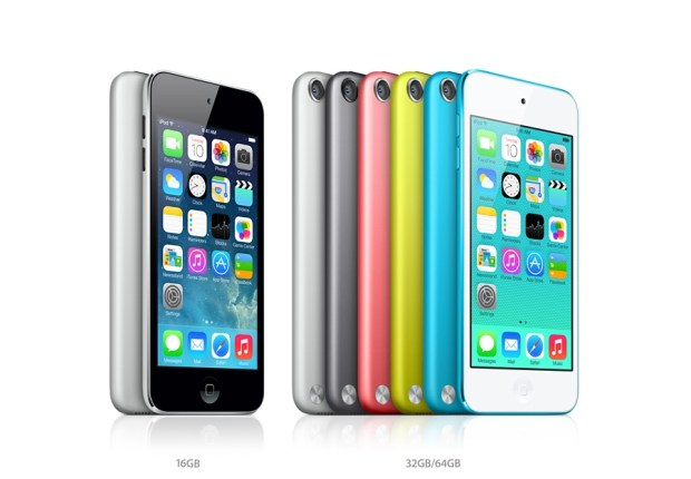 There is no new iPod touch for 2013, which makes the iPad mini 2 and iPhone 5s a potential target for some shoppers.