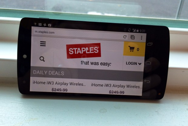 The Staples Cyber Monday deals and Black Friday will bring a coupon for bigger savings.